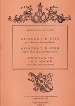 Karl Ditters von Dittersdorf, Koncert pro Violoncello a orch.