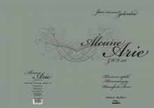 Jan Dismas Zelenka, ALCUNE ARIE
