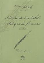 Vilém Blodek, Andante cantabile, Allegro di bravura OP. 2